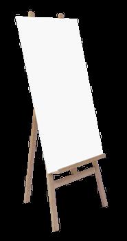 Plan de table chevalet panneau imprim fa on tableau de mariage fourni avec son support en - Chevalet de table peinture ...