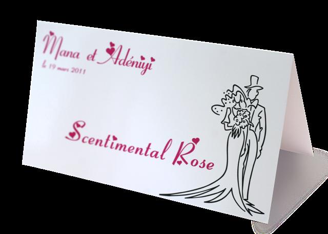 Mariage rose - Idee nom table mariage ...